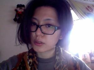 髪型を「水原希子カット」に母にしてもらった