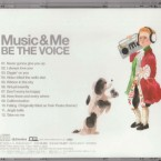 BE THE VOICE MUSIC&ME CDジャケット裏の絵