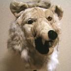 ファッションブランドSTOFに依頼されて制作したヒツジのふりをしたオオカミのマスク